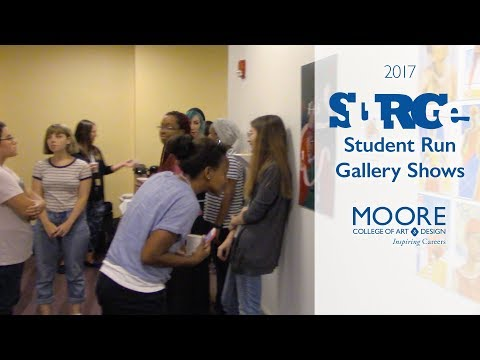 2017 SuRGe (Student Run Gallery) Shows