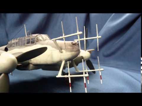 Revell Messerschmitt Bf 110 G-4 in 1/48 scale