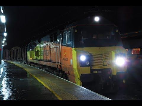 Preston Station by Night: 19th & 20th December 2018.