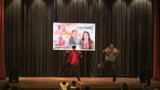 Gabbar Singh Dance - Ram Yakkanti, Rukmini Yakkanti