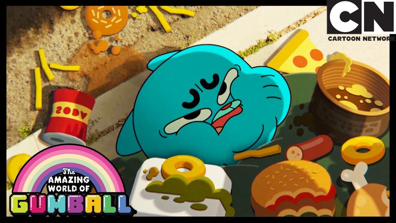 ¡Tanta comida! | O Incrível Mundo de Gumball | Cartoon Network 🇧🇷