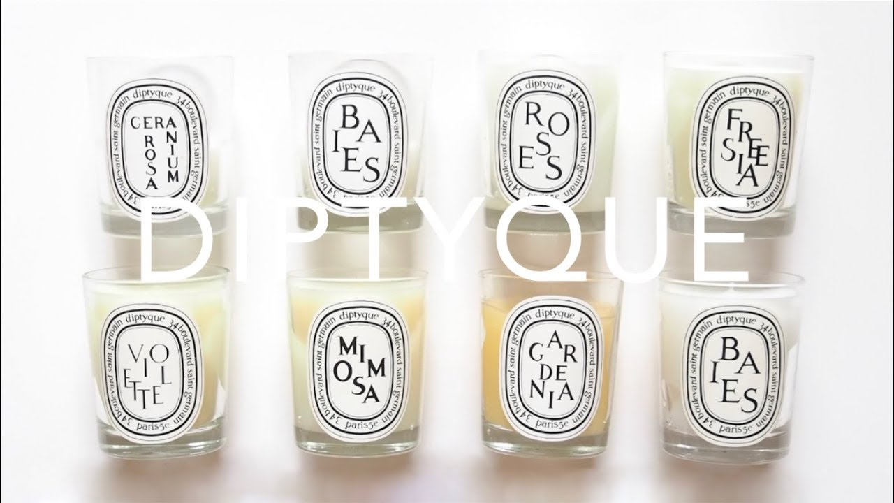 Diptyque Candles   Collection and Review