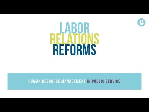 Labor Relations Reforms