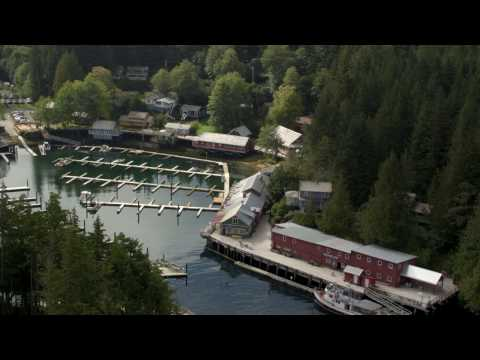 Telegraph Cove Resort On BC's Vancouver Island
