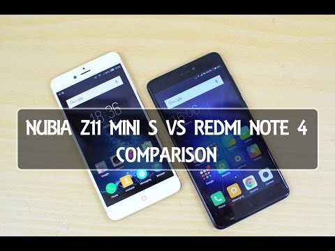 Nubia Z11 Mini S vs Xiaomi Redmi Note 4- Comparison, Software, Performance, Camera and Battery