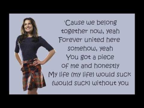 Glee  My Life Would Suck Without You lyrics