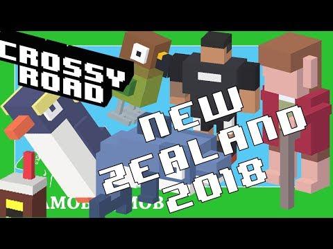 ★ CROSSY ROAD Secret Characters HALFLING Unlocked | New Zealand Update 2018