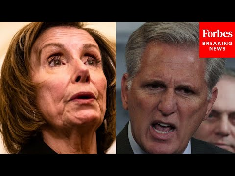 JUST IN: Pelosi Responds To McCarthy Pulling 5 Republicans From January 6 Committee