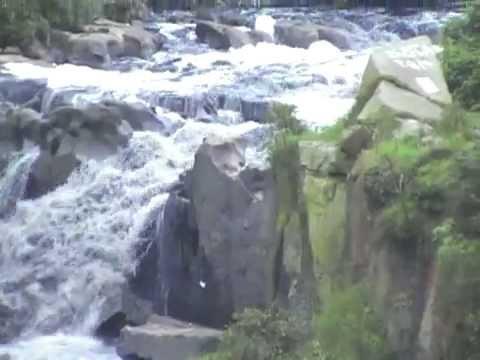 Tequendama falls bogota river colombia youtube for Direccion ministerio del interior bogota