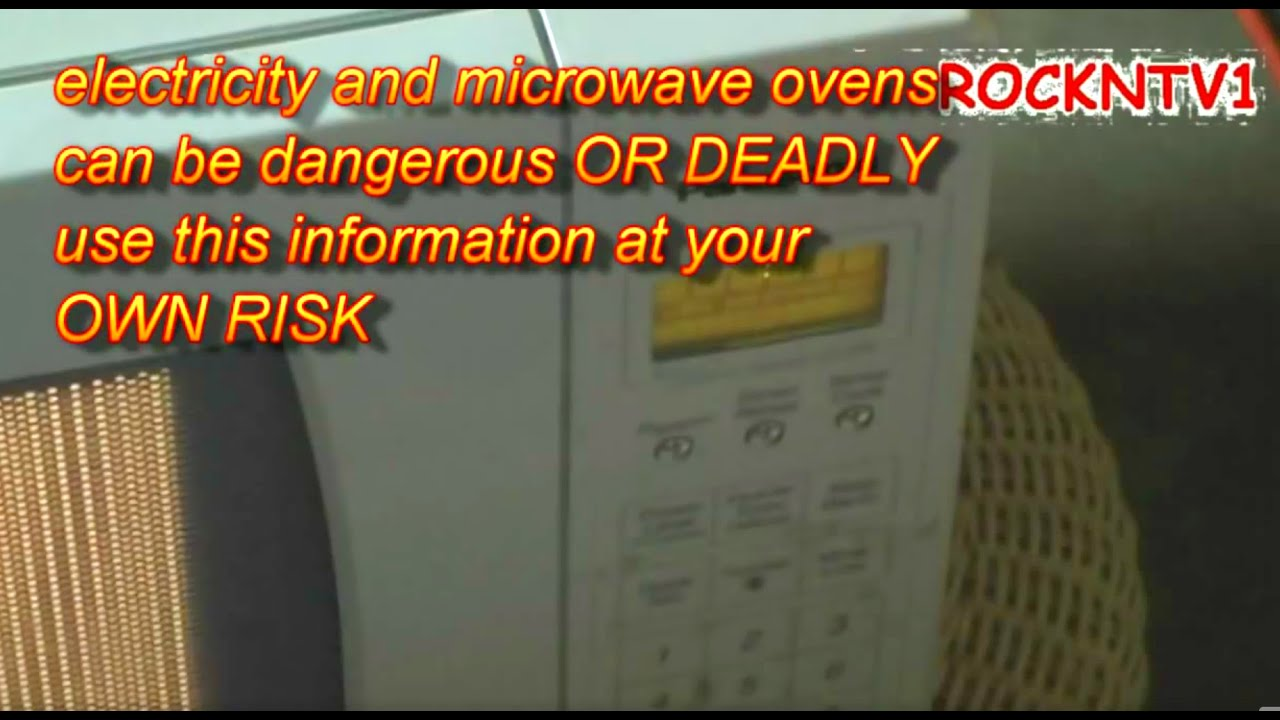 High Voltage Inverter Project Panasonic Microwave H965wfx Youtube