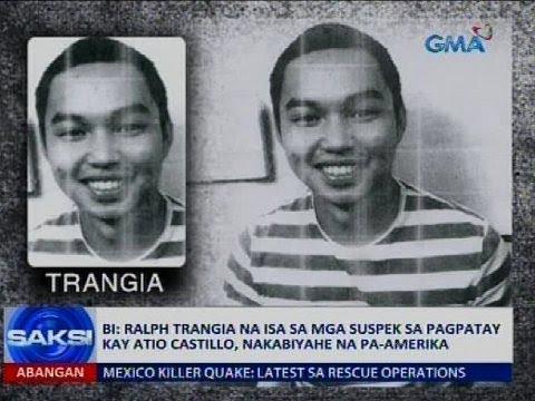 BI: Ralph Trangia na isa sa mga suspek sa pagpatay kay Atio Castillo, nakabiyahe na pa-Amerika