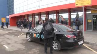 Оппозиционный блогер Алексей Навальный прибыл в Волгоград