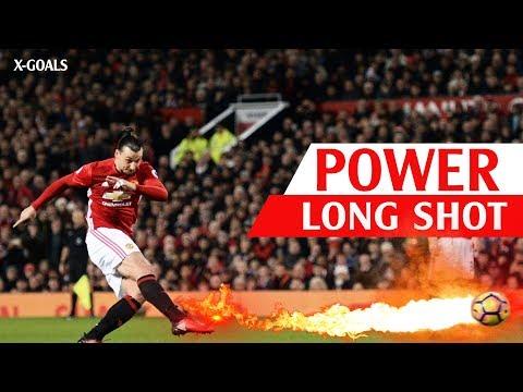 ⚽ TOP 100 LONG RANGE GOALS IN FOOTBALL ● MOST POWERFUL LONG SHOT GOALS EVER