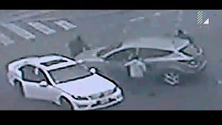 Surco: Cámaras de seguridad captaron espectacular asalto