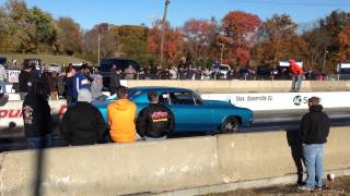 Blue 67 Chevelle VS Grand National NASTY-Cecil KOTS 11-3-13