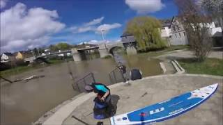 Sup Tour Diez Balduinstein bzw  Schleuse Cramberg bei Hochwasser