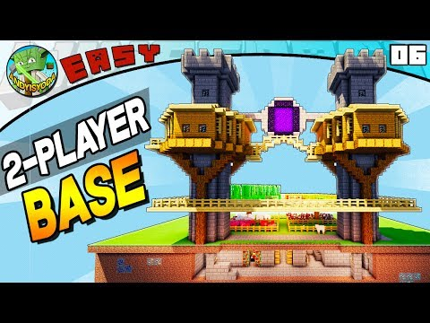 2 Player Survival Base (Minecraft EASY Build Series #05)