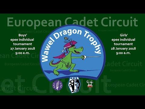 Wawel Dragon Trophy 2018 Boys Epee European Cadet