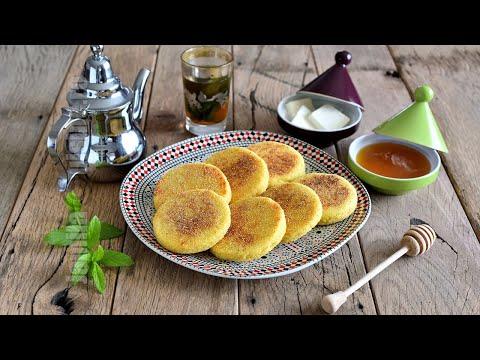 harcha-galette-du-maroc,حَرْشَة-مغربية,harcha-moroccan-galette-;recette-mère,mother-recipe