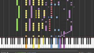 Star Trek TNG intro on Synthesia