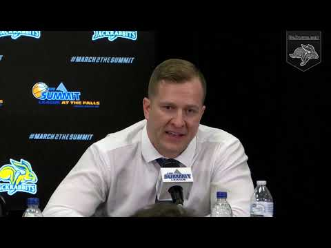 SDSU MBB Press Conference vs Western Illinois (03.09.2019)