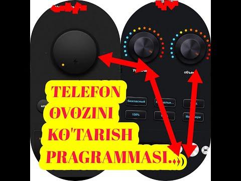 TELEFON OVOZINI KO'TARISHGA 2 TA ZO'R PRAGRAMMA.TELEFON OVOZINI KO'TARISHGA XARAKAT QILAMIZ...