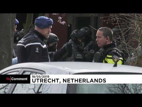شاهد: انتشار مكثف للشرطة الهولندية بعد -عملية أوتريخت-  - نشر قبل 4 ساعة