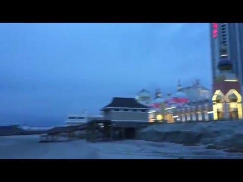 Beach Taj Mahal Atlantic City NJ USA