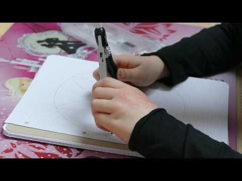 Blumen zeichnen mit Zirkel