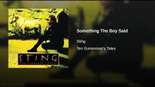 Play Something the Boy Said