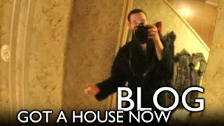 A walk around the house (I've escaped the basement)