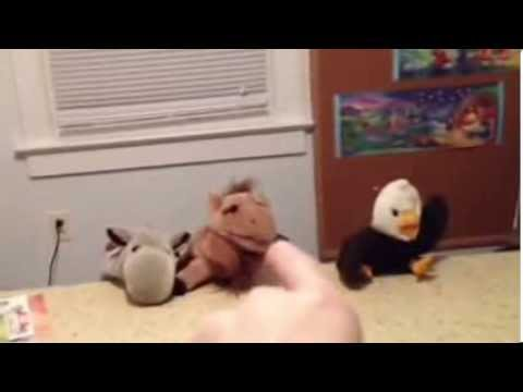 Stuffed animals singing our god (REAL)