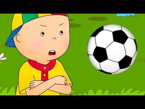 CAILLOU FOOTBALL  Cartoon soccer  Cartoons for children  Full Episode  Cartoon movie 2018