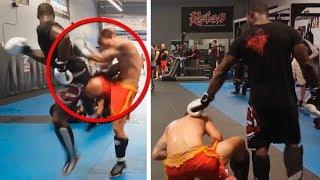 ВЫРУБИЛ НАГЛОГО ФАНАТА / БОЙЦЫ UFC ИЗБИВАЮТ ЛЮДЕЙ / ЖЕСТКИЕ НОКАУТЫ