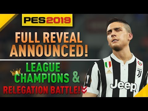 [TTB] PES 2019 Full Reveal Announced! - League Review for EPL, La Liga, Bundesliga & More! - 동영상