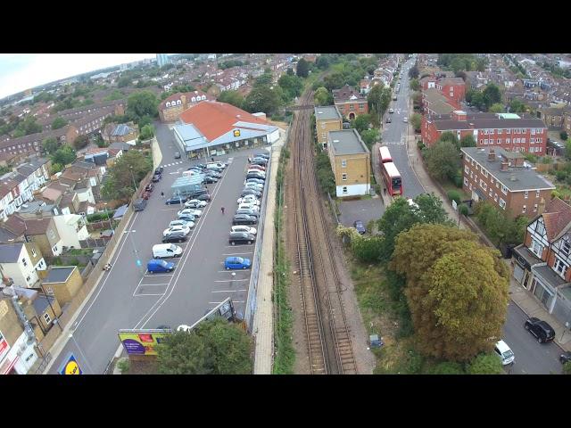 Breeze 4k Drone over Tooting Junction London UK 2/2