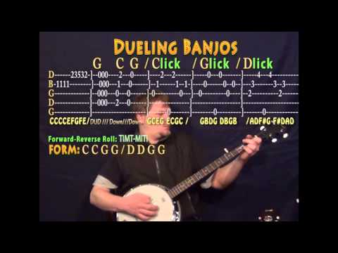 Dueling Banjos - Banjo Cover Lesson with TAB - YouTube