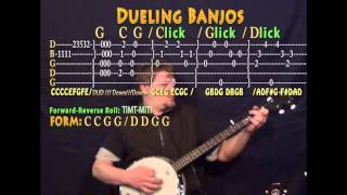 Dueling Banjos - Banjo Cover Lesson with TAB