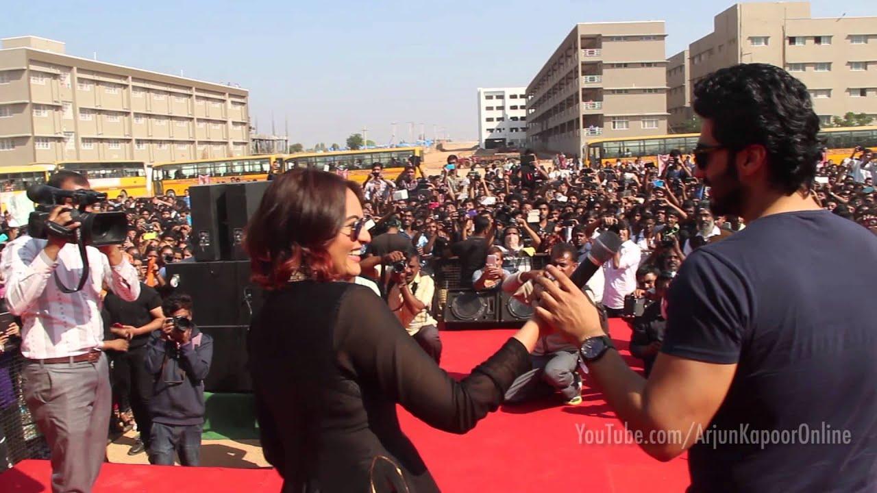 Arjun Kapoor's Diaries : My dance performance at the Guru Nanak Institute of Technology, Hyderabad