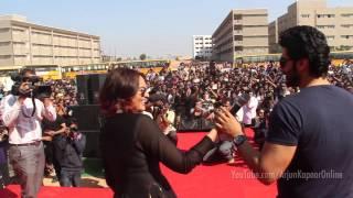 arjun kapoor s diaries my dance performance at the guru nanak institute of technology hyderabad