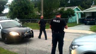 Winter Haven Florida Policemen caught violating Civil Rights..