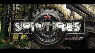 тест Драйв машины УАЗ в Spintires  Лебедка спасает  # 1