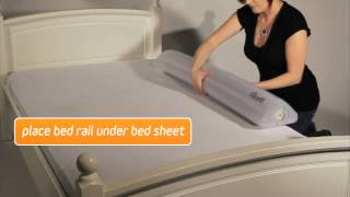 How to inflate and deflate your Bed Rail