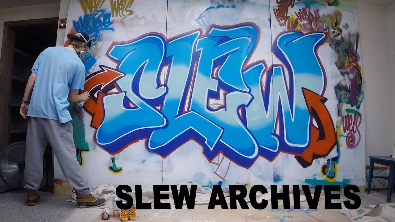 Graffiti Indoor Spray Painting Slew Archives 1