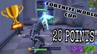 Soo.. This is what happens when you get 20 Points in Fortnite Tournoment!!!!