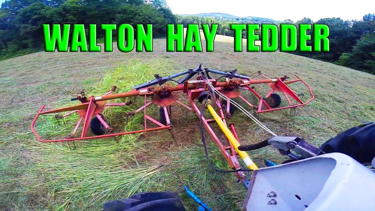 Manual for Walton Hay tedder