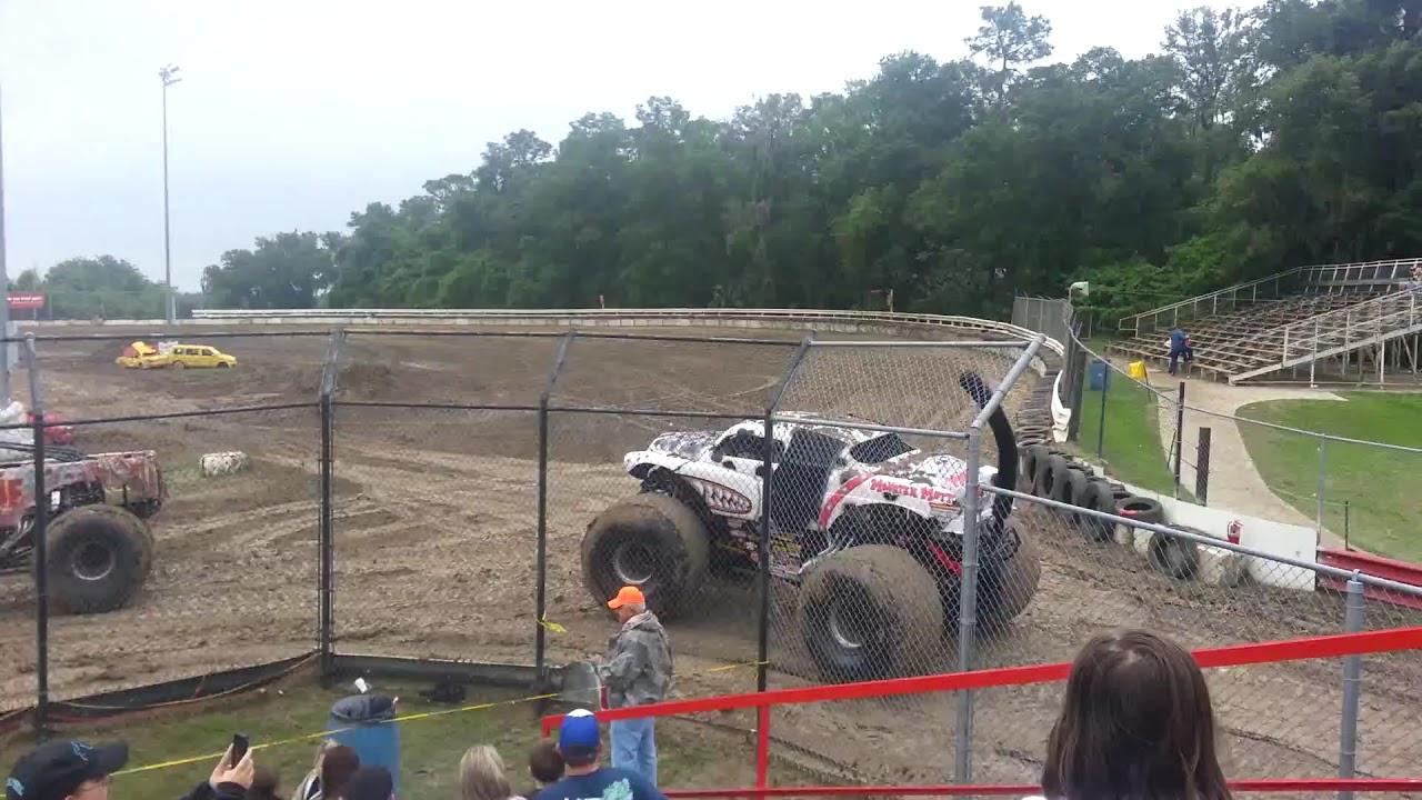 Bubba Raceway Park >> Monster Jam Summer Heat Truck Intros Bubba Raceway Park Ocala