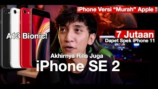 Memperkenalkan iPhone SE (2020) A13 Bionic Chip cuma 7 Jutaan! Pre-Review Indonesia by itechlife
