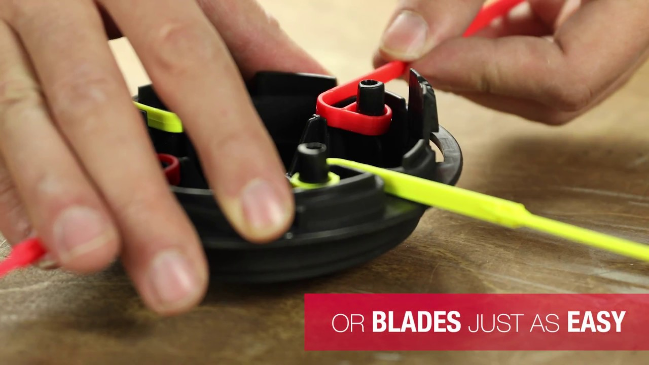 How to Use Quick Change™ Trimmer Heads