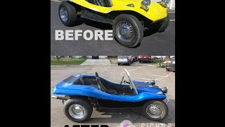 Dune Buggy Color Change Wrap Avery Supreme Wrapping Film
